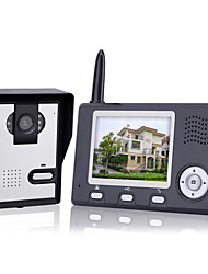 cheap -KONX® Wireless Night Vision Camera + 3.5 Inch Door Phone Monitor