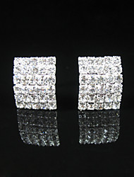 cheap -Women's As the Picture As the Picture Crystal Stud Earrings - Classic For Party