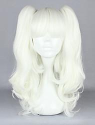 Недорогие -Парики для Лолиты Готика Серебряный Лолита Парики для Лолиты 18 дюймовый Косплэй парики Однотонный Парики Хэллоуин парики
