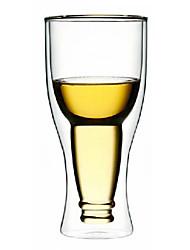 baratos -Upside Down Beer Bottle Estilo Vidro Duplo Walled