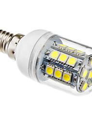 preiswerte -1pc 3 W 5500 lm E14 LED Mais-Birnen T 27 LED-Perlen SMD 5050 Natürliches Weiß 220-240 V