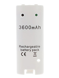 cheap -Rechargeable Battery (3600mAh) for Wii/Wii U Remote Controller
