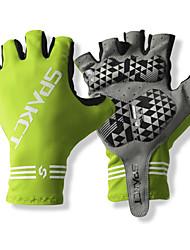 SPAKCT Luvas Esportivas Manter Quente Vestível Respirável Protecção Resistente ao Choque Sem Dedo Vinylal Esportes Relaxantes Ciclismo /
