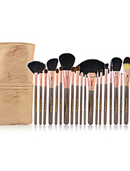 cheap -Make-up For You® 20pcs Bristle/Pony/Goat hair Makeup Brushes set Professional/Limits bacteria Coffee Blush/Powder/Shadow/Eyeliner
