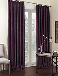 Недорогие -две панели сплошные фиолетовые роскошный затемненные шторы портьеры