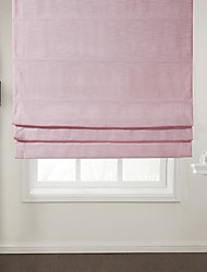 cheap -Eco-friendly Cotton/Polyester Blend Roman Shade