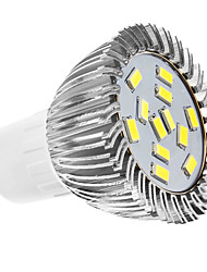 GU10 LED Spotlight MR16 12 SMD 5630 360lm Natural White 6500K AC 110-130 AC 220-240V