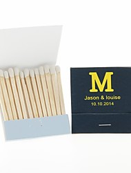 cheap -Wedding Décor Personalized Matchbooks Monogram-Set of 12 (More Colors)