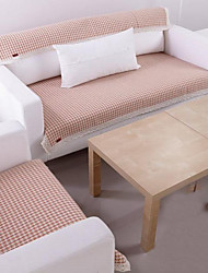 Cotton Houndstooth Lace Sofa Cushion Mats 90*150
