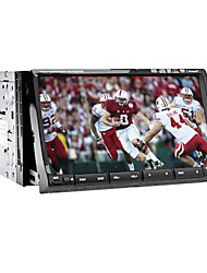 7-inch 2 Din TFT Screen In-Dash Car DVD Player With iPod-Input,RDS,Bluetooth,Navigation-Ready GPS,TV