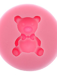 cheap -3D Bear Shaped Silicone Cookie Biscuit Mold