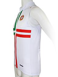 Kooplus Cycling Vest Men's Women's Unisex Sleeveless Bike Vest/Gilet Jersey Tops Quick Dry Waterproof Zipper Front Zipper Wearable