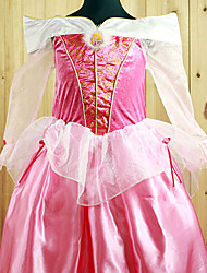 cheap -Princess Fairytale Aurora Cosplay Costume Party Costume Kid's Halloween Carnival New Year Children's Day Festival / Holiday Halloween