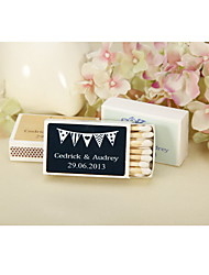 cheap -Personalized Matchbox Hard Card Paper Wedding Party Occassion Classic Gargen Theme