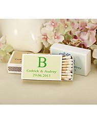 cheap -Wedding Décor Personalized Matchbooks - Classic Monogram-Set of 12 (More Colors)