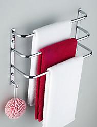 billige -Håndklædestang Moderne Messing 1 stk - Hotel bad 3-håndklæde bar