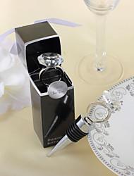 Thème classique Bouchons de bouteille Bouteille pour Invitée Avec Anneau 10*2.5*2.5cm