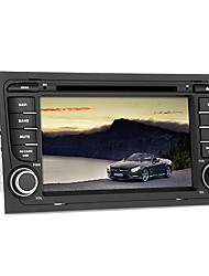 abordables -7 pulgada Windows CE 5.0 GPS / iPod / RDS para Audi Apoyo / Interface 3D / Soporte SD / USB / Transmisor FM / DVD-R / RW / DVD+R / RW