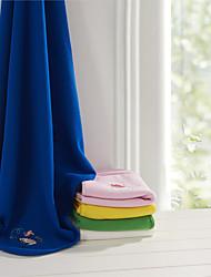 "Flanela Azul Animal 100% Algodão cobertores W30"" x L30"" (W76 x L76cm)"