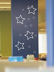 Femtakkede Stars Wall Stickers