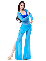 Dança do Ventre Roupa Mulheres Elastano 22.44Polegadas(57cm)