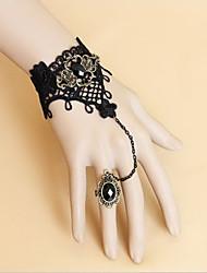 preiswerte -Schmuck Gothik Armreife Lolita Damen Lolita Accessoires Spitze Armband Ring Spitze Metal Künstliche Edelsteine