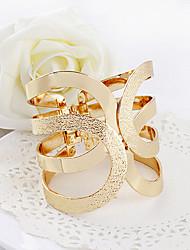 Недорогие -Дамы Мода Европейский стиль Сплав Браслет Ювелирные изделия Золотой Назначение Для вечеринок Подарок Повседневные