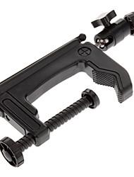 Portable Multi-Function pieghevole treppiede Staffa per Mini Card della fotocamera digitale - nero
