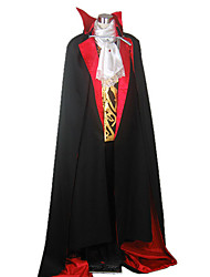 cheap -Cosplay Costumes / Party Costume Vampire Evil Castle Black Cloak Men's Costume