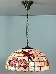Max 40W Tiffany / Ciotola Stile Mini Pittura Luci Pendenti Salotto / Camera da letto / Sala da pranzo / Sala studio/Ufficio