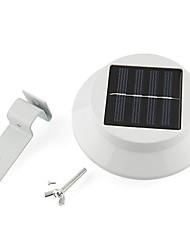Недорогие -3-LED солнечной энергии света забора желоб саду на открытом воздухе стене двора пути лампы