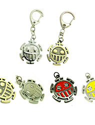 cheap -Cosplay Accessories Inspired by One Piece Trafalgar Law Anime Cosplay Accessories Keychain Alloy Men's Hot