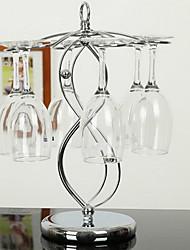 baratos -Garrafeira Metal, Vinho Acessórios Alta qualidade CriativoforBarware 26.0*26.0*35.0cm cm 0.2kg kg