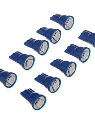 Недорогие -T10 Автомобиль синий SMD 5050Лампы сигнала поворота Стоп-сигналы Лампа подсвета приборной доски Лампа освещения номерного знака
