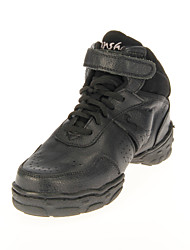 Stylish Unisex's Leather Upper Dance Shoes