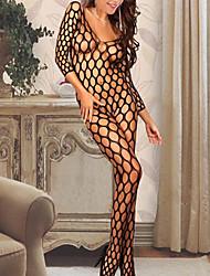Ultra Sexy Vêtement de nuit Femme Couleur Pleine Mousseline de soie
