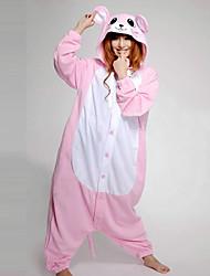 cheap -Kigurumi Pajamas Mouse Onesie Pajamas Costume Polar Fleece Pink Cosplay For Adults' Animal Sleepwear Cartoon Halloween Festival / Holiday