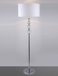 Lampada da terra moderna con vetro palle di decorazione