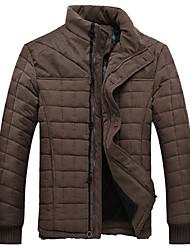 Недорогие -Мужская стенд воротник толстые шерстяные пиджаки