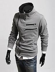 Недорогие -Мужчины Толстовка с капюшоном молния и пиджаки