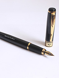cheap -Personalized Black Classic Metal Ink Pen