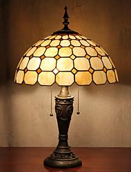 Недорогие -Клетку настольные лампы, 2 Легкий, Тиффани Смола Стекло картины