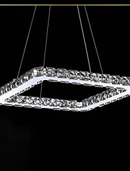 Pendant Light ,  Modern/Contemporary Electroplated Feature for Crystal LED Metal Bedroom Dining Room Kitchen