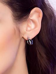elegant legering med perle kvinders øreringe (flere farver) elegant stil