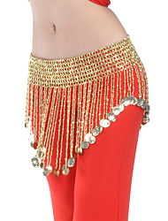 cheap -Belly Dance Belt Women's Polyester Beading / Coin / Ballroom