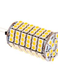 cheap -580 lm G4 LED Corn Lights T 118 LED Beads SMD 5050 Warm White 12 V / #