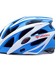 MOON Cykel Hjelm CE Certificering Cykling 25 Ventiler Bjerg Halv Skald Herre Dame Unisex Bjerg Cykling Vej Cykling Cykling