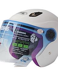 836-R af høj kvalitet ultraviolet-bevis halvdel face hjelm