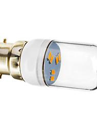 billige -70-90lm B22 LED-spotlys 6 LED Perler SMD 5730 Varm hvid 220-240V