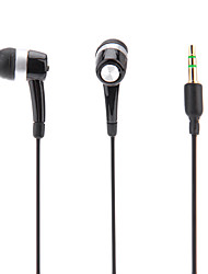 abordables -in-ear headphonefor ipod / ipad / iphone / mp3 (negro)